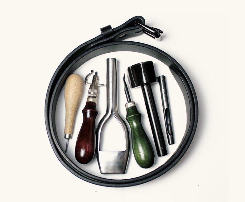 Ручные инструменты по коже